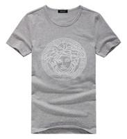 Wholesale 2014 Autumn Winter Cotton Men s Shirts Face Brand Short Sleeve European Style Casual Male T Shirts