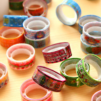 Wholesale 8778 Special Korea gifted Pai small tape cartoon cartoon color tape adhesive tape adhesive tape
