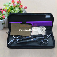 Wholesale 2014 New Professional Stainless Hairdressing Scissors Barber Hair Thinning Set Kit