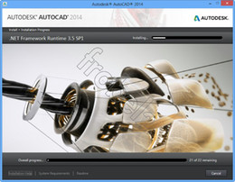 Wholesale AutoCAD English Full Version for WIN32 WIN64 MAC DVD Color Box Packing