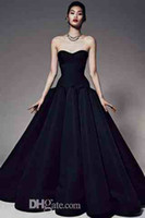 Wholesale Sweetheart Black Red Carpet Evening Dresses Golden Globe Awards Celebrity Dresses Long Dress Sexy Cheap Ball Gowns Sofia Vergara XX22