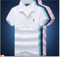 Wholesale Large in stock size M xxl Good quality women s polo shirt short sleeve t shirt for men to all over the world