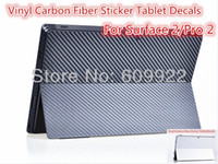 Wholesale Vinyl Carbon Fiber Sticker back Guard Tablet Decals For Microsoft Surface Pro Surface Pro VIA