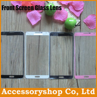 For Apple iPhone   1:1 Replacement Touch Panel Front Screen Glass Lens Cover Front Panel Glass Len For iPhone 4S 5 5S 5C Galaxy S3 S4 Mini S5 Note 3 500pcs DHL