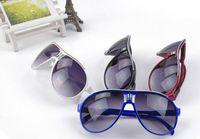 Resin Lenses aviator sunglasses children - Supper star kids sunglasses children UA protection optical Aviator sun glasses high quality low price Colours