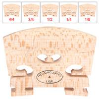 achat en gros de maple wood-Le bois d'érable Violin Bridge Régulier Type 1/8 1/4 1/2 3/4 4/4 Taille, Livraison gratuite! MIA_108