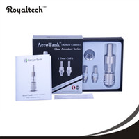 Replaceable 2.4ml stainless steel ,pyrex glass 2014 100% Original Kanger Aero tank Atomizer High Quality Kangertech Aerotank Adjustable Air Flow Bottom Coil Clearomizer