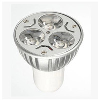 Wholesale High power W GU10 MR16 E27 Led Light Lamp Spotlight led bulb down light lighting with