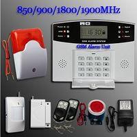 Сигнализация GSM SMS Главная Охранная безопасности детектор Комплект датчика дистанционного управления