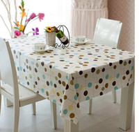 Wholesale 137 cmpvc plastic tablecloths printed tablecloth table cloth waterproof disposable oil