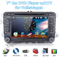 Wholesale In Dash Windows quot Din Car PC DVD Player for Volkswagen with GPS G WIFI Bluetooth iPOD ATV FM AM Radio RGB Free Map