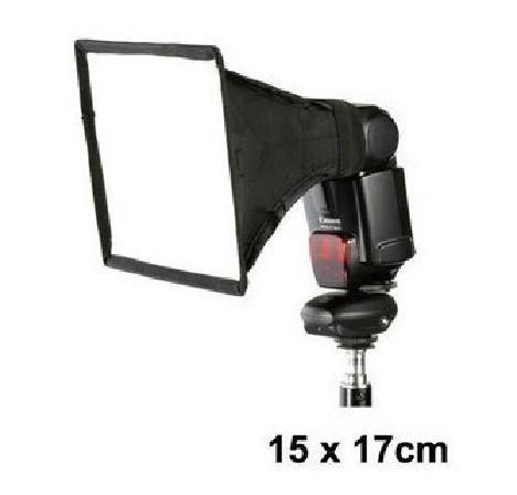 X 15 Speed 2016 15x17cm Portable Flash Softbox Diffuser Speedlight For Canon ...
