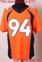 Cheap Football DeMarcus Ware jerseys Best Unisex Short American football jerseys