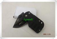 El envío libre 55HRC 420 Boker QQ Negro cerdo caza plegable de bolsillo Mini cuchillo táctico A355