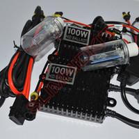 12v 100w 6000k 8000k hid xenon 100w hid xenon kit H7 H4 H1 H3 H11 9005 9006 H13 H8 H9 H10 9004 9007 880 881 xenon hid kit