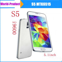 Wholesale 1 S5 inch MTK6515 Dual Core Android High Quality Camera WiFi Cardiograph Smart Mobile Cell Phone