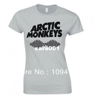 Cotton arctic monkeys tee - Arctic monkeys quot AM quot logoT shirt DIY personalized fashion size shirt Cotton