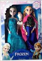 Wholesale Factory Produce Frozen Anna Elsa cute olaf Toys Princess dolls Inch Nice Gift For Kids boys Girls Made in China