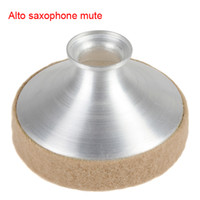 alto saxophone mute - Sax Mute Dampener for Alto Saxophone High Quality and Durability for It Is Made of Brushed Aluminum MIA_401