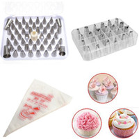 Wholesale Details about Icing Piping Nozzle Bag Cake Decorating Sugarcraft Pastry Tips Tool Set