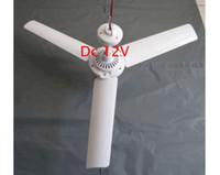 Revisiones Ceiling fan-MINI techo eléctrico del ventilador del ventilador 5W 3 Hojas sin escobillas del convertidor de plástico Envío DC 12V de DHL