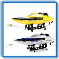 A estrenar juguetes a control remoto WLtoys WL912 juguetes electrónicos de 4 canales Modelo Barco 2.4G de alta velocidad RC Electric Boat RTF Venta caliente
