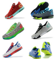 Wholesale New Model Kevin Durant KD VI NYC Men s Basketball Sport Footwear Sneakers Trainers Shoes