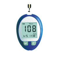 Wholesale New Blood glucose meter blood glucose monitor with test strips and blood lancets