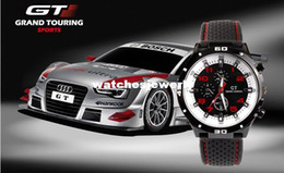 Wholesale Electronic New F1 GT car racing silicone watch sports Military men designer quartz watches mens casual dress wristwatch