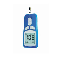 Wholesale High accuracy diabetes aids Blood glucose meter AH with test strips and blood lancets