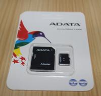 ADATA 128 GB 64 GB 32 GB Clase 10 Tarjeta de memoria de 128 GB TF tarjeta de memoria SD C10 TF con el envío libre SD adaptador al por menor del paquete de ampolla de DHL