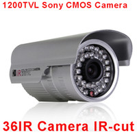 Wholesale HD TVL Sony CMOS IMX138 Sensor IR Security CCTV Waterproof Camera OSD Control