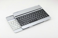 Wholesale Aluminum Alloy Thin Wireless Bluetooth Keyboard Stand Case Cover For iPad Air iPad