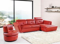Wholesale Home furniture living room sofa leather soaf