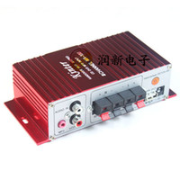 Wholesale KINTER MA Mini Audio Stereo Channel Car Motorcycle Amplifier V Active crossover subwoofer network