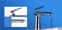 Cheap UFO Fashion Design Cold And Hot Water Mixer Tap Solid Brass Chrome Bathroom Basin Faucet 3011