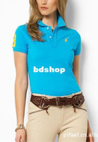 Women Cotton Polo New in 2014 Polo for Woman Shirt Casual SPORT Women's Polo Shirts 100%Cotton for Women Polo Tee Tops size:L-XXL
