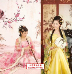Wholesale Fairy dress hanfu chaise loaded Tangfeng costumes studio photography clothing color yarn new costume piece