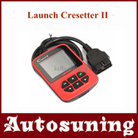 Wholesale 100 Original Launch Cresetter II Code Readers amp Scan Tools Multi Language Internet Update