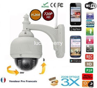 Wholesale Wanscam HW0028 Outdoor Megapixel HD P x Optical Zoom Wireless IP Security CCTV Network Camera PTZ Night Vision H P2P