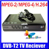 PVRs DVB-S Oem Wholesale-DVB-T2 Digital Terrestrial TV Receiver,Set Top Box Support Russia Menu High Definition MPEG2 4 H.264 DVB T USB HDMI Freeshipping