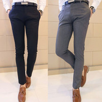 Slim Fit Dress Pants Mens Photo Album - Kianes