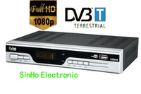 PVRs DVB-S Guangdong China (Mainland) Wholesale-HDDVB9203 Support Full HD 1080P H.264 Mpeg4 Terrestrial Receiver Tv Tuner Dvb-t Freeview Receiver Set Top Box HDTV