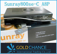 Wholesale satellite receiver Sunray se hd with dvb c cable tuner digital cable set top box SIM Card A8P dm800SE C