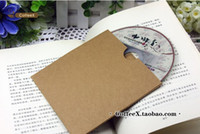 cd dvd sleeves - EMS Quality Kraft Paper CD DVD Case Envelope Sleeve CD Bag Holder Cover