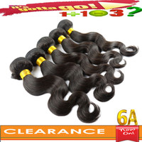 Wholesale Clearance Sale Cheap A Virgin Peruvian Human Hair Weave Body Wave Hair Extensions Accept Returns Top Quality Dyeable Full Head Look