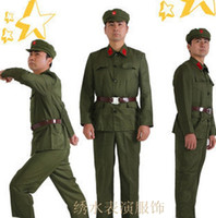 asia cultural - Revolutionary Army uniform apparel clothing Red Red Guards during the Cultural Revolution clothing costume photography old uniforms Specials