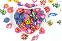 8-11 Years Multicolor Silicone 3000pc Rainbow loom loom beads DIY Charms Rubberband bands Bracelets CHARMS PACK Christmas Gift
