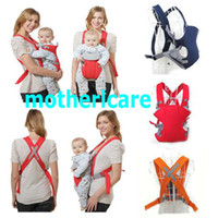 Wholesale Breathable sanwich fabric Baby hip and front carriers Kid MESH back slings baby wrap pouch