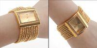 Women's bangle watches for women - 1PCS Women s Gold Band Golden Dial Diamond Bracelet Style Wrist Watch Bangle Luxury Diamond Square Face for Women Lady Girls